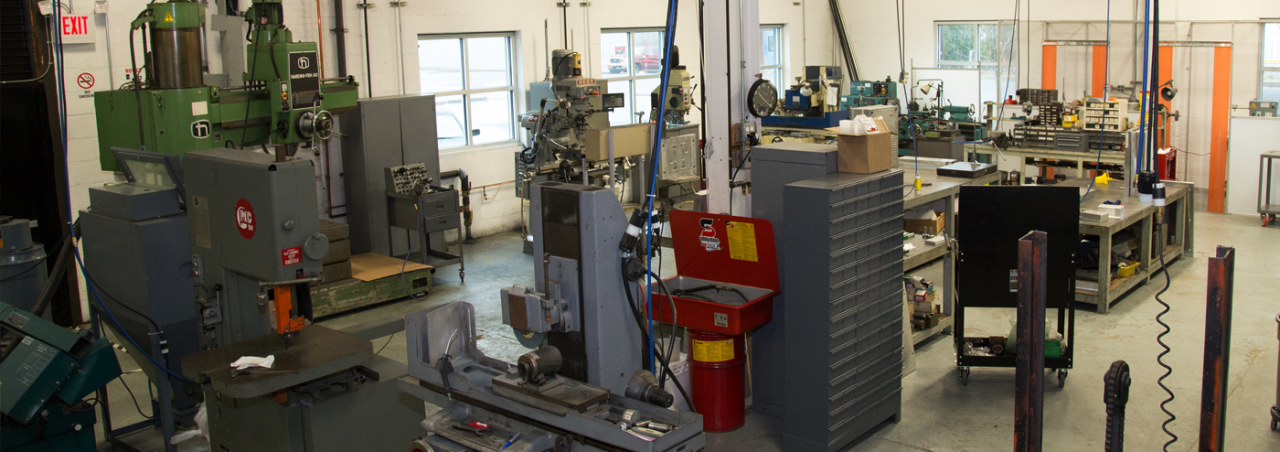 On-Site Tooling Room